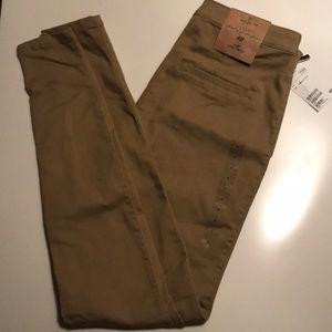 H&M Khaki Pants Skinny Stretch